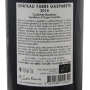 Vin bio du languedoc Corbières Boutenac 2016