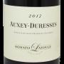 Vin de Bourgogne Auxey-Duresses Lafouge excellent rapport qualité-prix
