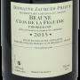 Beaune Féguine Monopole 2015 Jacques Prieur
