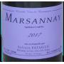 Bourgogne Marsannay 2017 Sylvain Pataille