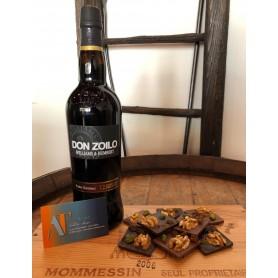 Pedro Ximenez 12 ans Don Zoilo et Chocolat Mendiant