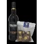 Pedro Ximenez 12 ans Don Zoilo et Mendiant chocolat noir noix pistache et raisins secs