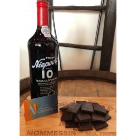 Porto Niepoort 10 ans et Chocolats noirs aux épices