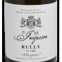 Jacqueson rully Margotés 2018 Bourgogne banc