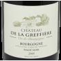 Château de la Greffière Bourgogne rouge pas cher 2018