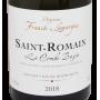 Bourgogne Blanc pas cher Saint-Romain 2018 Franck Lamargue