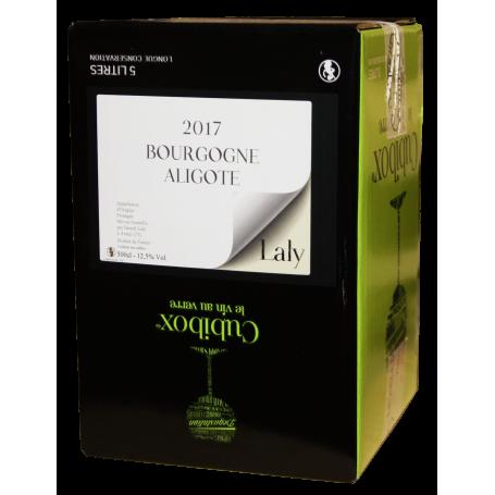 Bourgogne Aligoté 2017 Bib 10 litres Laly vin en cubi