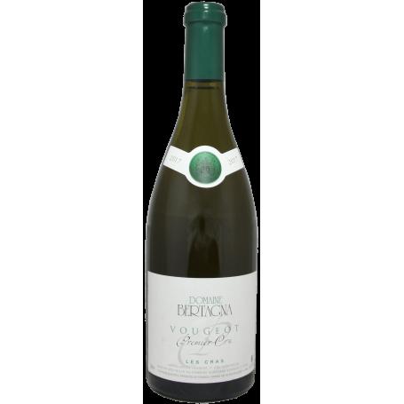 Vougeot blanc 1er Cru Les Cras 2017 Domaine Bertagna