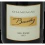 Baudry Brut 2013 millésimé Champagne de l'Aube