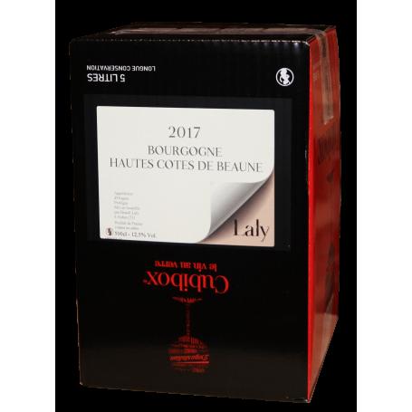 Bourgogne Hautes Côtes de Beaune rouge 2017 Bib 5 litres Laly