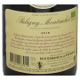 Puligny Montrachet biodynamie Bourgogne Vougeraie 2018