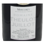 Mercurey 2019 Theulot Juillot Meilleur Bourgogne rouge