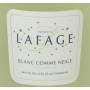 Domaine Lafage Blanc comme neige muscat