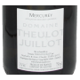 Vin blanc Bourgogne Mercurey Chenaults Theulot Juillot 2018