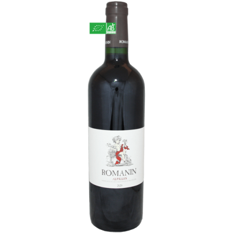 Alpilles rouge 2020 Romanin