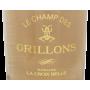 Côtes de Thongue Le Champ des Grillons 2020 Domaine La Croix Belle
