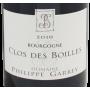 Bourgogne pinot noir Biodynamie Philippe Garrey