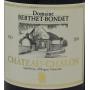 Vin Jaune Château-Chalon Bio
