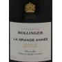 Grande cuvée de Champagne millésimé Bollinger
