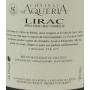 Lirac 2016 Château d'Aquéria vin du sud rouge