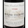 Beaune Teurons 1er Cru 1988 Domaine Bouchard Père et Fils