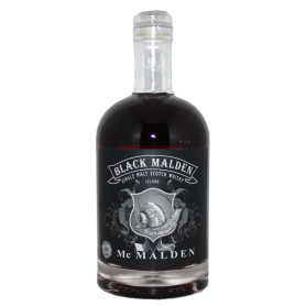 Black Malden Highland Single Malt Scotch Whisky Mac Malden