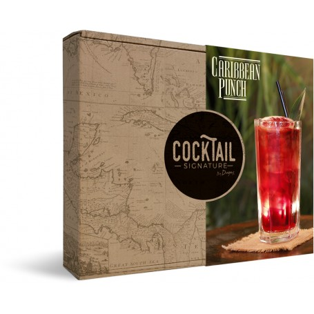 Caribbean Punch - Box n°4 Cocktail Signature by Dugas