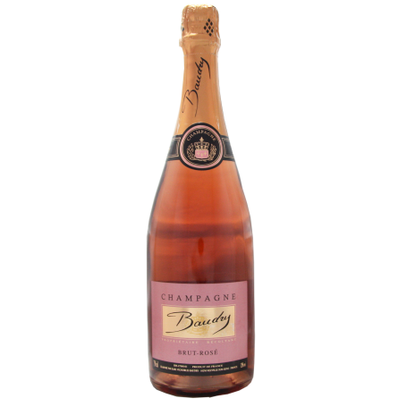 Champagne Baudry Brut Rosé
