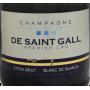 Champagne De Saint Gall 1er Cru Extra-Brut Blanc de Blancs