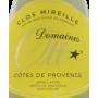 Côtes de Provence Clos Mireille blanc 2013 Domaines Ott