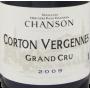 Corton Vergennes Grand Cru 2009 Domaine Chanson