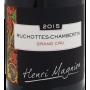 Etiquette Ruchottes Chambertin Grand Cru 2015 Domaine Henri Magnien