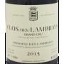 Etiquette Clos des Lambrays Grand Cru 2015 Domaine des Lambrays