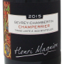Gevrey-Chambertin Champerrier 2015 Domaine Henri Magnien Etiquette