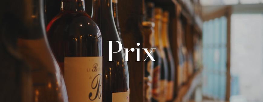 Classement par prix de notre sélection de vins