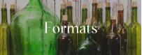 Format des Champagne : demi-bouteille, bouteille, magnum, jéroboam,...