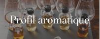 Classement des whiskys par profil aromatique