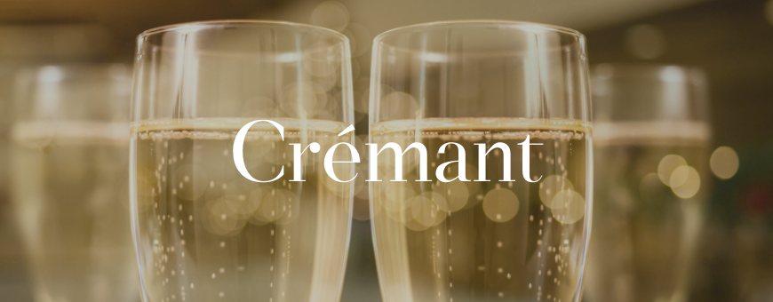 Crémant de Bourgogne, de Loire, d'Alsace